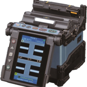 The Fujikura FSM70s, a core align,ment splicer used for telecom installations