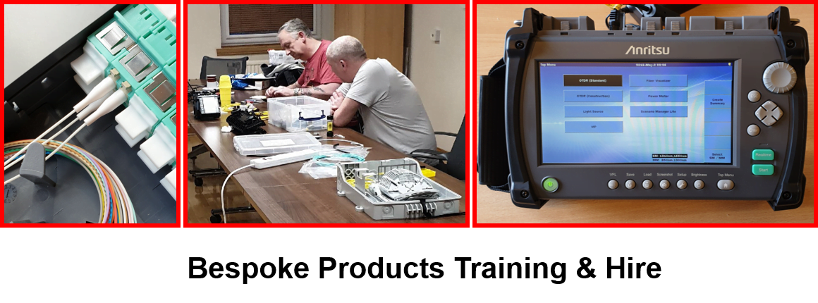 Bespoke Fibre Products Training & Hire Facilities from Opticus