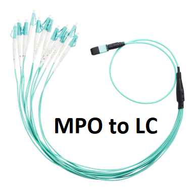 MPO to LC fan out cable