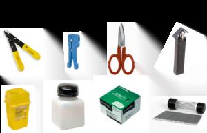 fibre preparation tools for fusion splicing